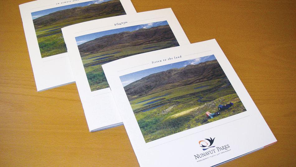 Nunavut Parks Brochures